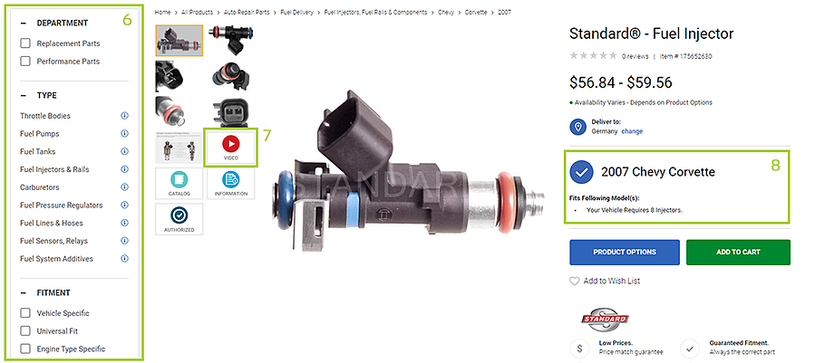 CARiD product page