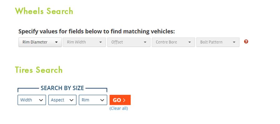 Wheels Search