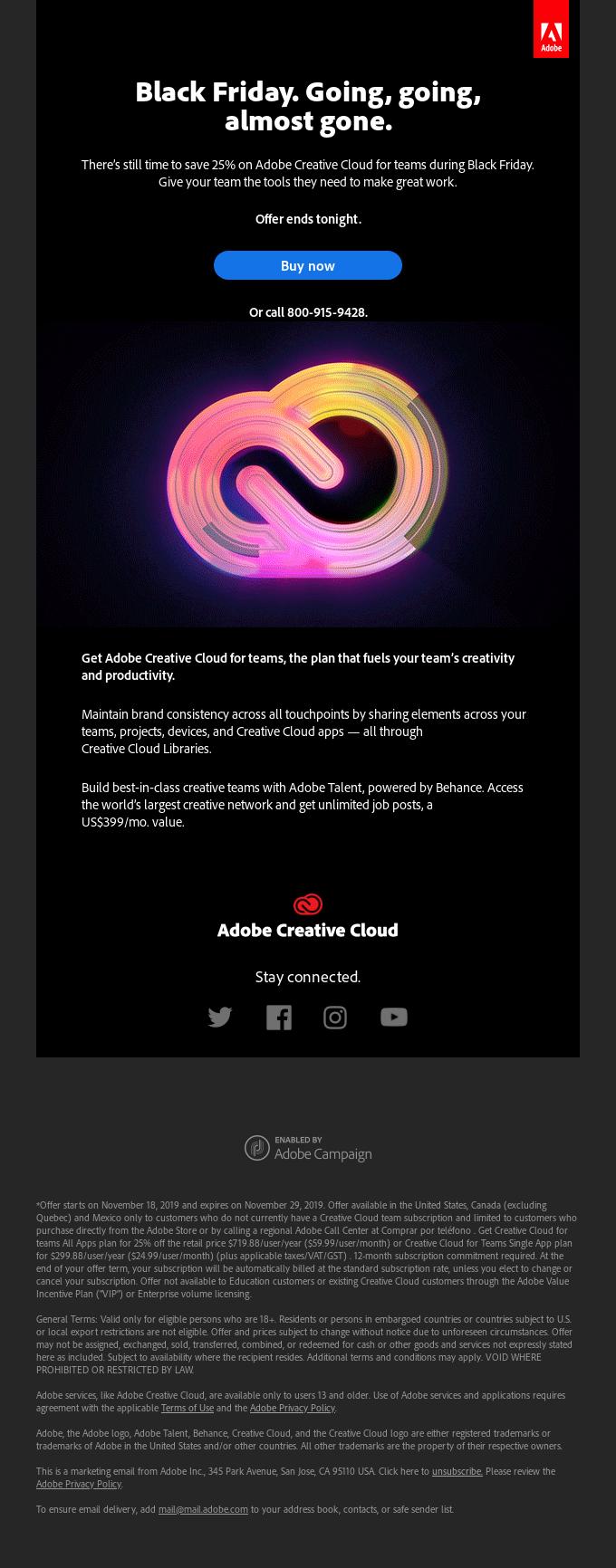 Adobe Dark Mode-Friendly Email