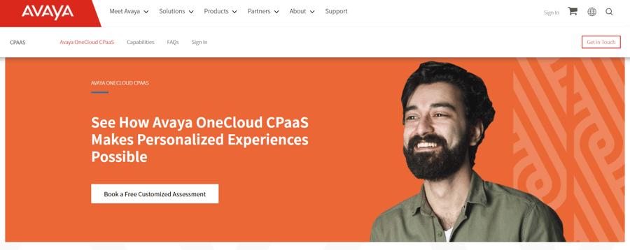Avaya OneCloud CPaaS
