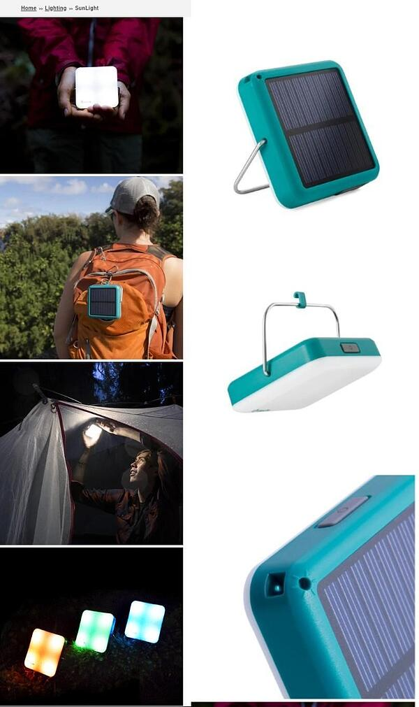 BioLite SunLight product page