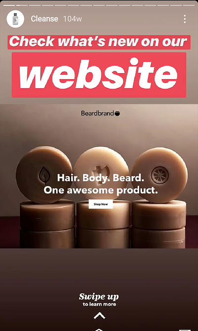 Cleanse Instagram Stories Text