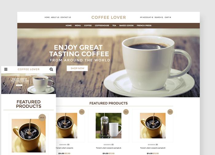 Coffee Lover theme