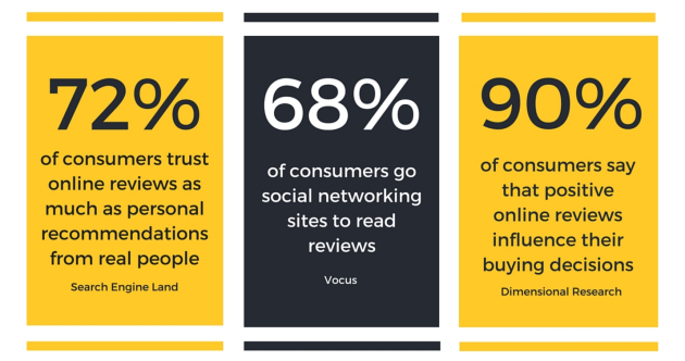 Customer Review Infographic