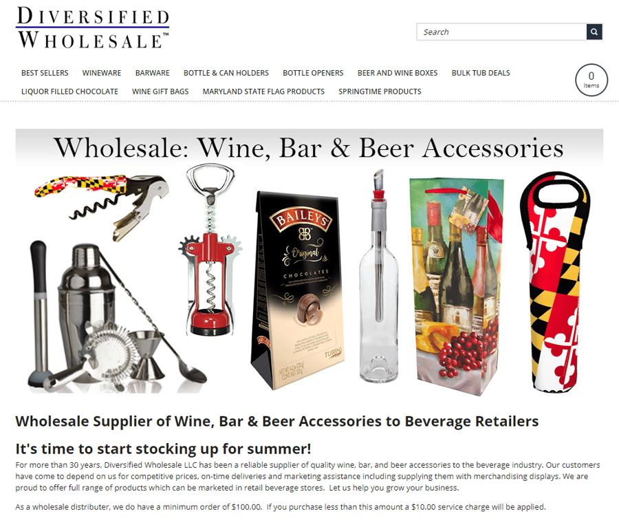 Diversified Wholesale