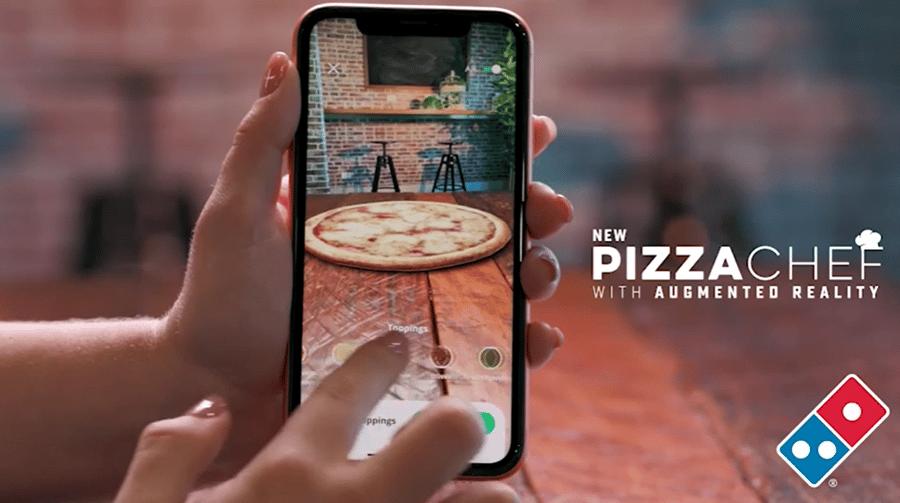 Dominos new pizza chef app