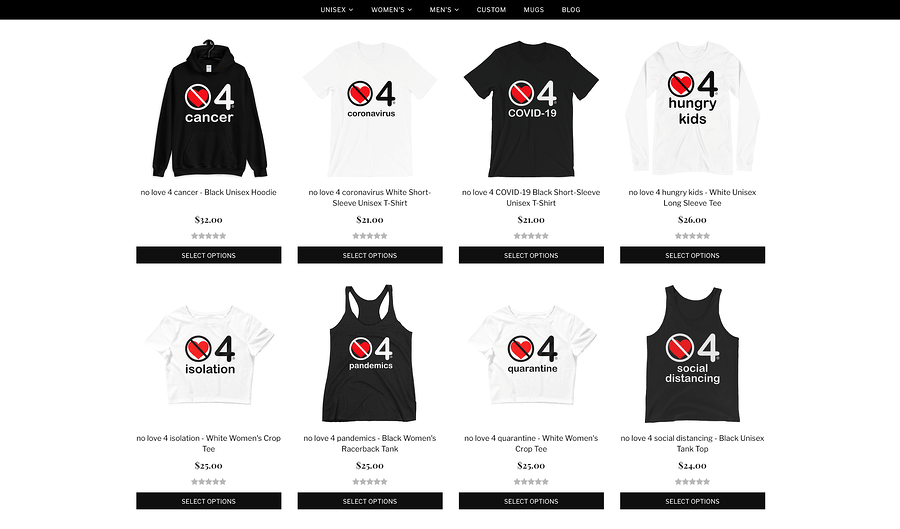 Dropshipping Store NoLove4