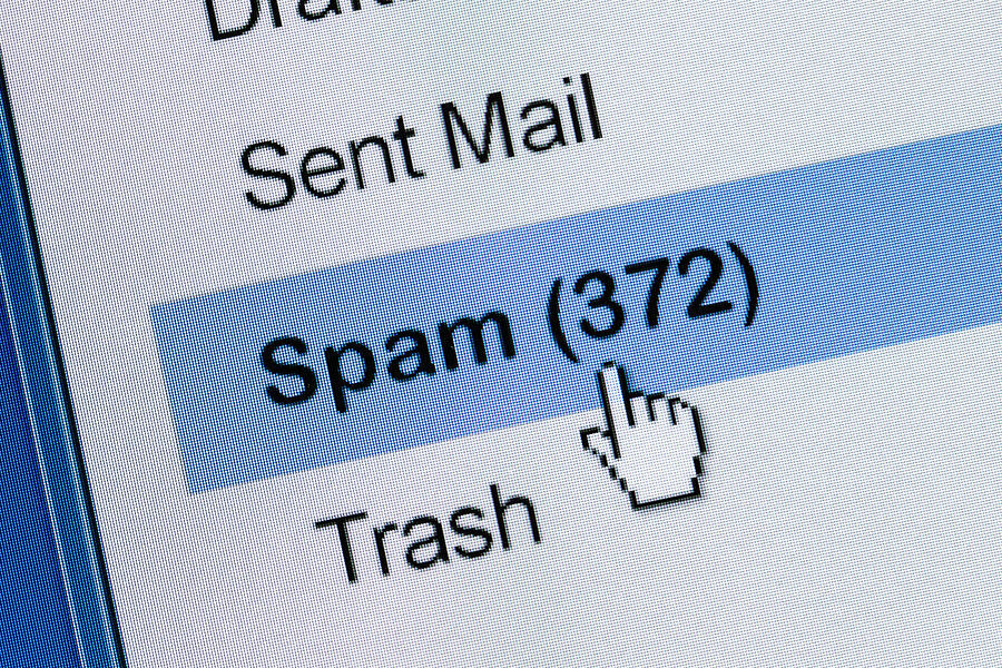 Email spam traps