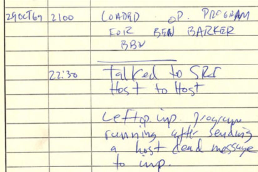 First Email Through ARPANET-png