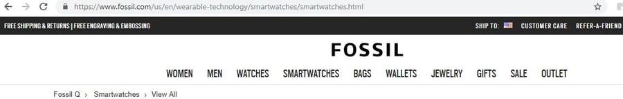 Fossil URL