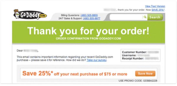 GoDaddy Order Confirmation Email-1
