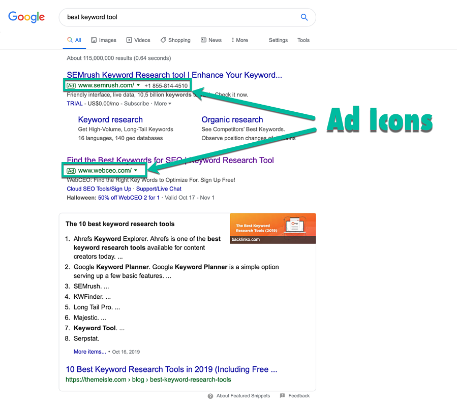 Google Text PPC Ads