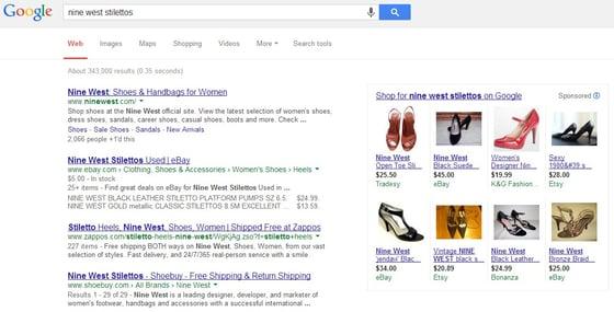 Stilettos search results