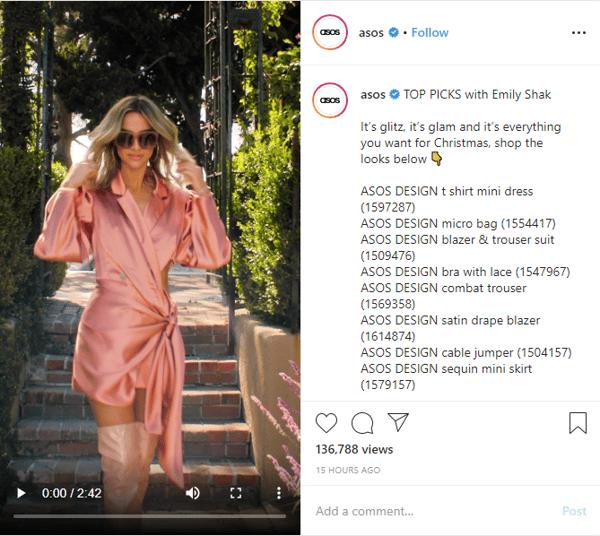 Instagram Asos