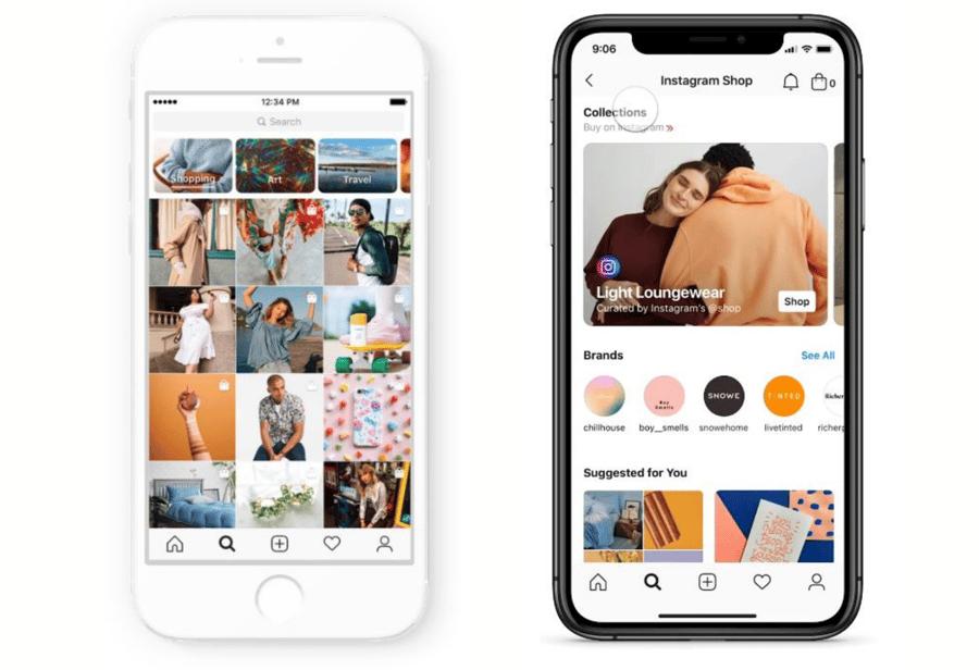 Instagram Explore Tab & Shop Tab