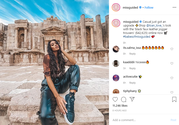Instagram Missguided