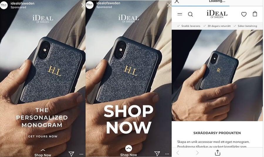 Instagram iDeal of Sweden