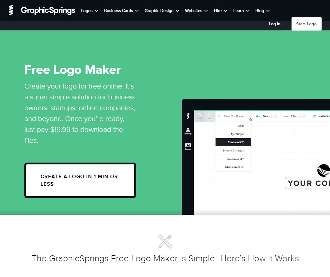 graphicsprings-free-logo-maker