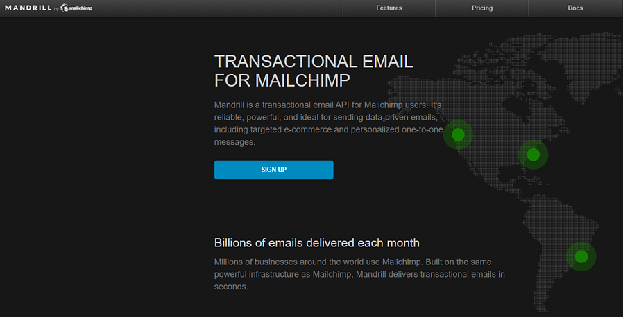 Mandrill by Mailchimp