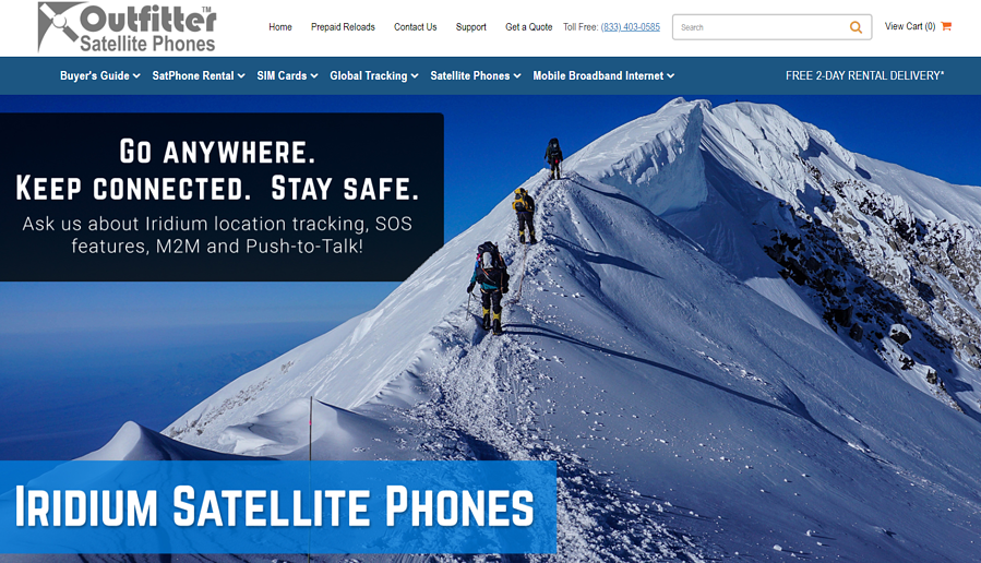 Outfitter Satellite Phones