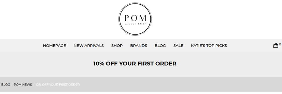 POM London Discount