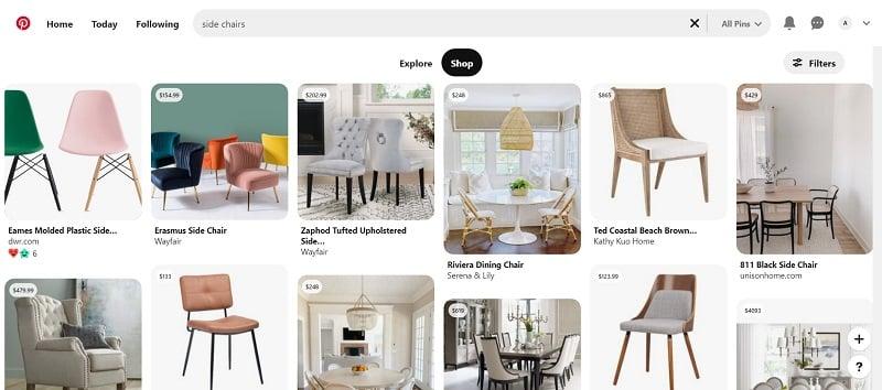 Pinterest Shoppable Content