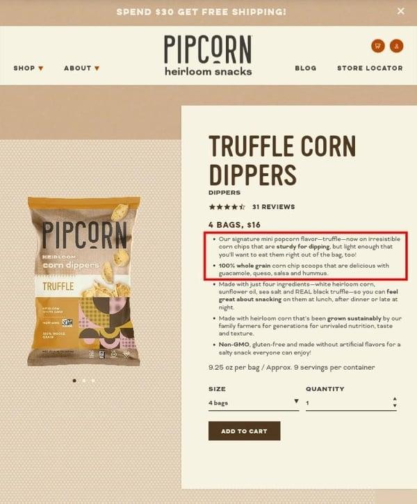 Pipsnacks pipcorn