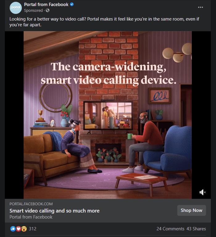 Portal FB Video Ad