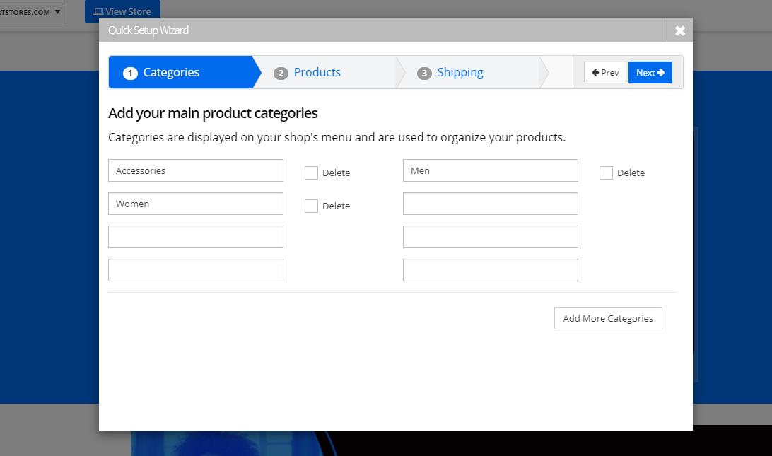 QuickSetup Wizard 2 Products