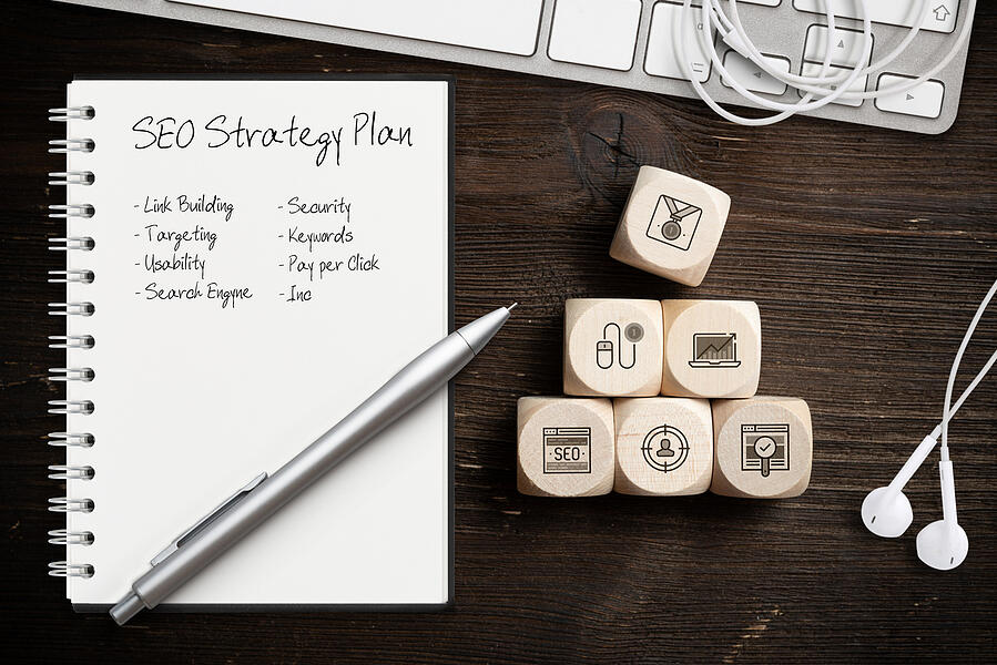 SEO plan for high-quality content