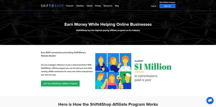 Shift4Shop Affiliate Program