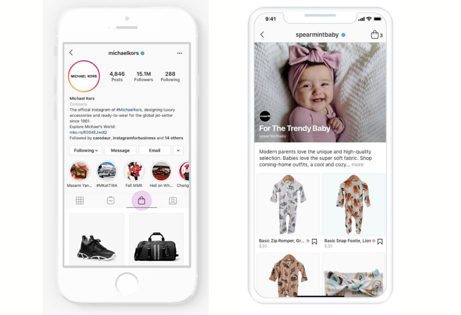 Shops on Instagram & Collections