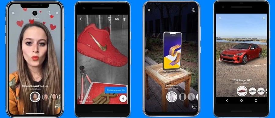 Snapchat filters AR