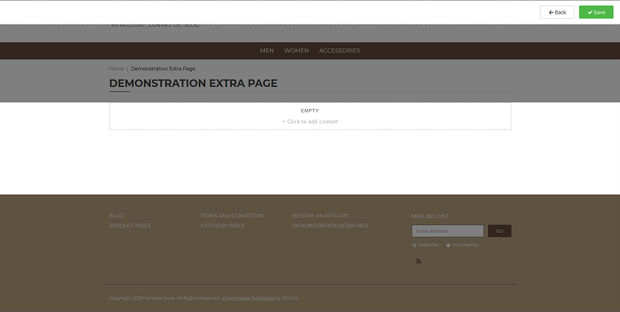 Starting to Use the Page Editor