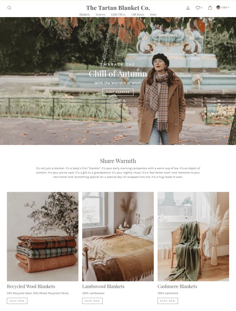 Tartan Blanket Co
