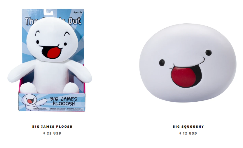 TheOdd1sOut merchandise