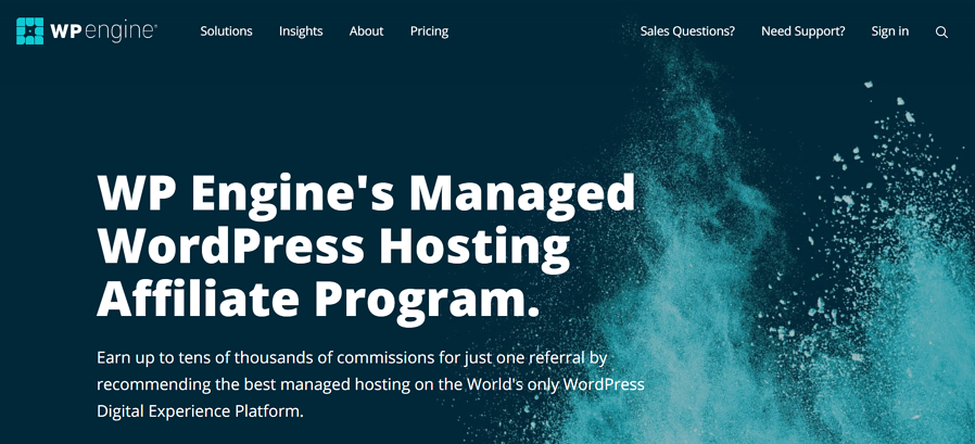 WP Engine Affiliate Program