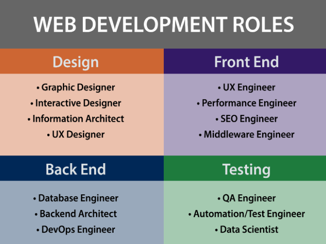 Web Development Roles