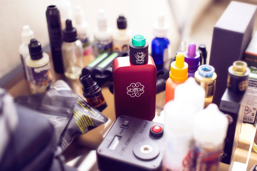 Selling vape products online