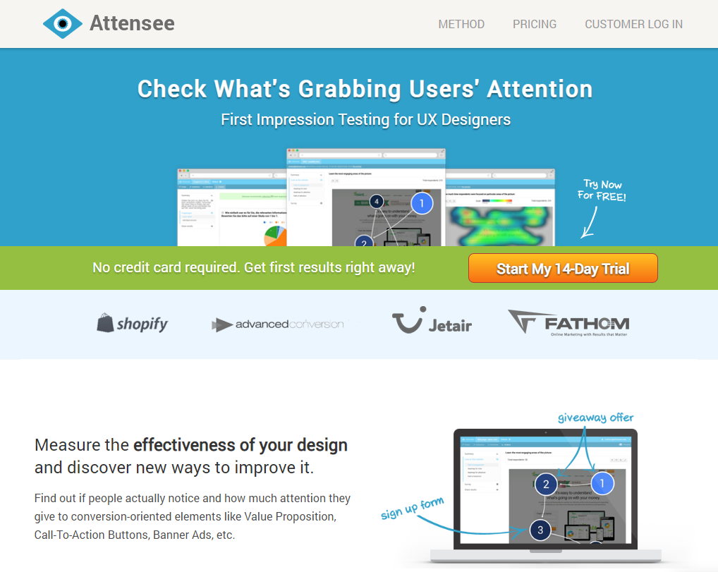 attensee-website-ux-testing
