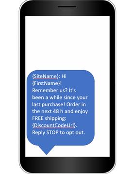 dynamic field sms