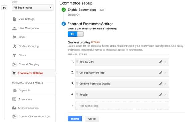 enhanced-ecommerce-settings