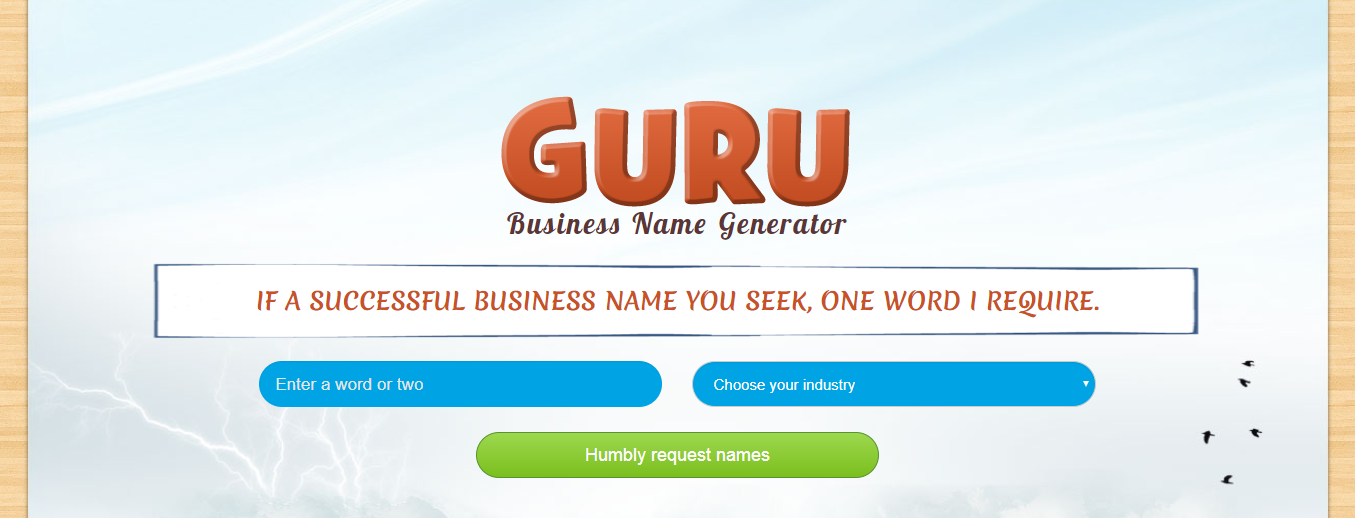guru-business-name-generator