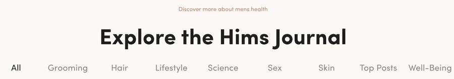 hims journal