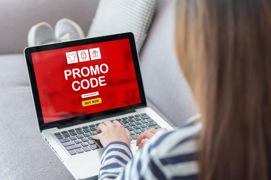 customer promo code