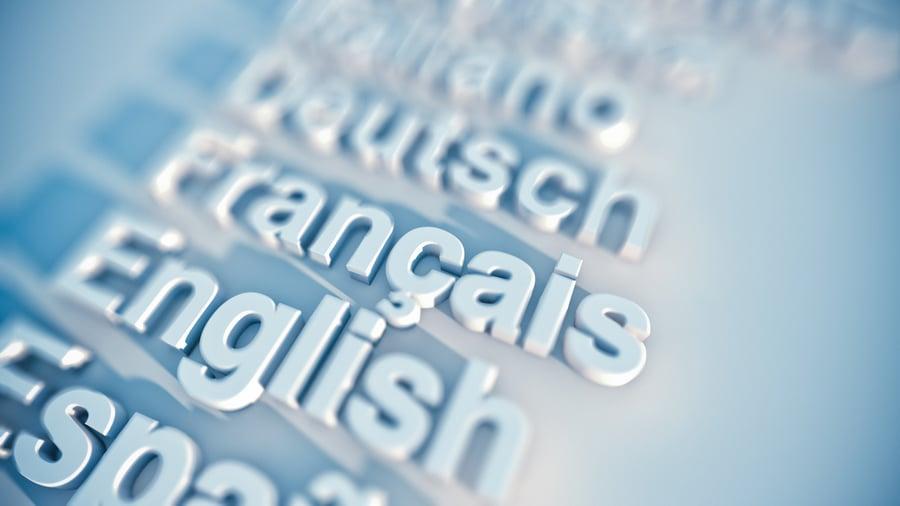 English, French, Dutch, Spanish