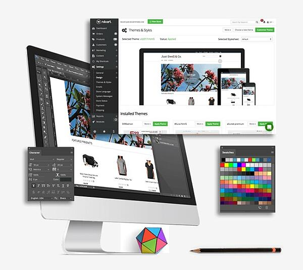 build an online store with 3dcart