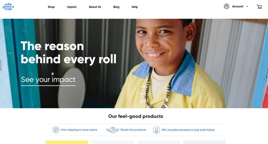 WhoGivesaCrap website