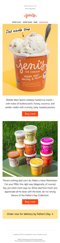 jenis ice cream email