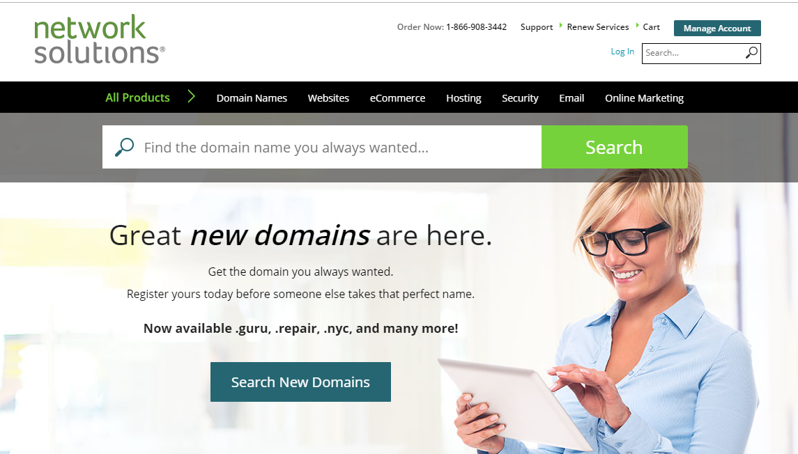 networksolutions-domain-search